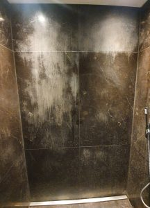 Viakal Marble Shower Stain Removal